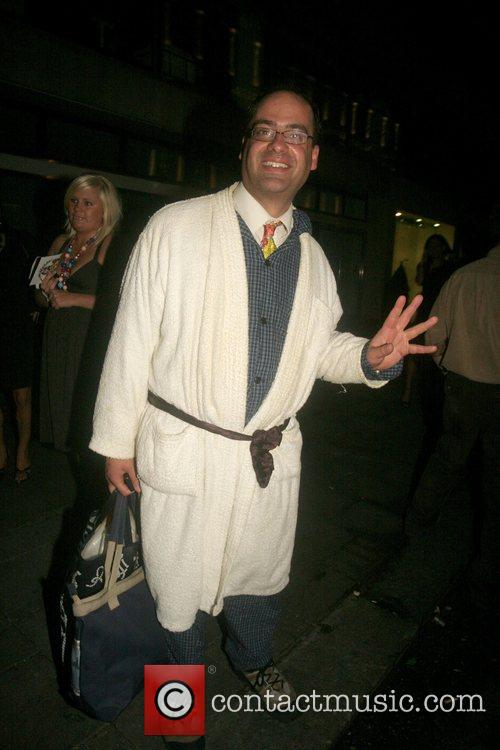 Jonty Stern Leaving the Big Brother reunion at...