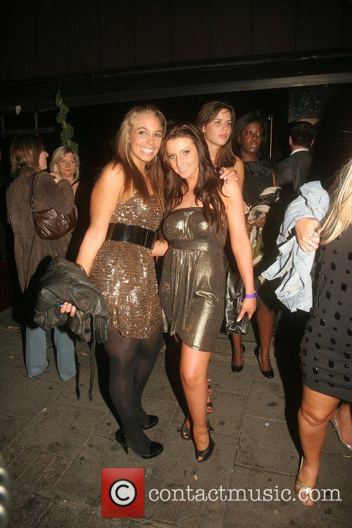 Kara-Louise Horne and Amy Alexander Leaving the Big...