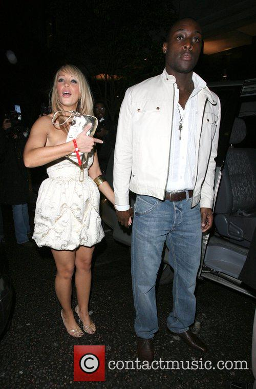 Charlotte Mears and her new boyfriend leaving the...