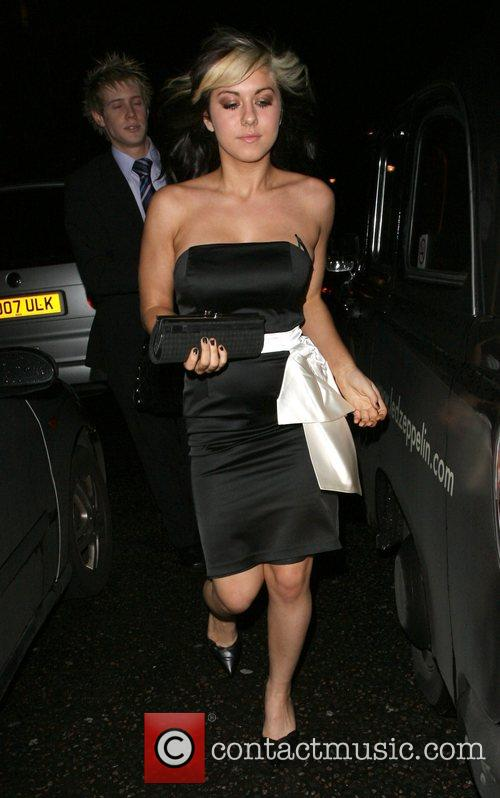 Phoebe Brown of girl group Hope, leaving the...