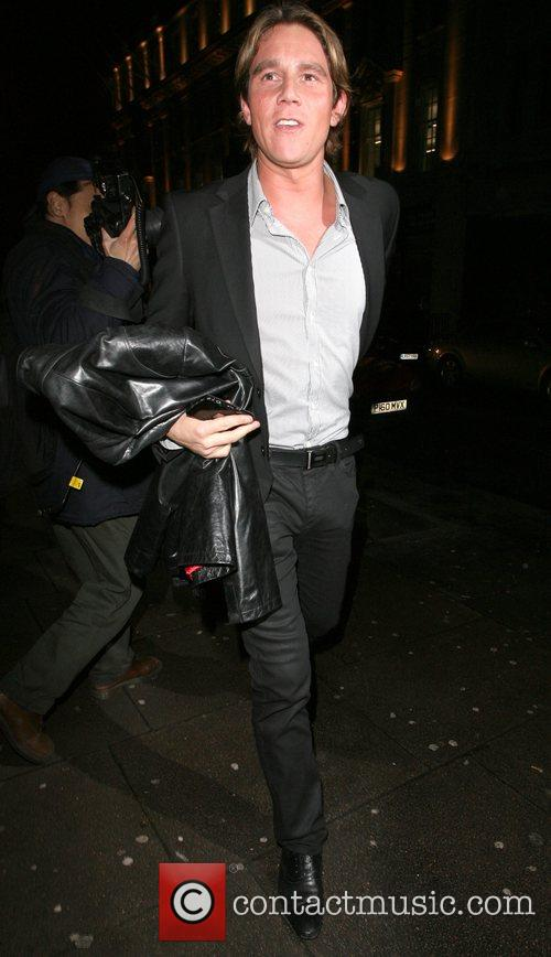 Zac Lichman aka Ziggy leaving the OK Magazine...