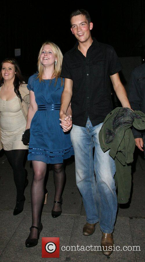 Glyn Wise from BB7 with new girlfriend Leaving...
