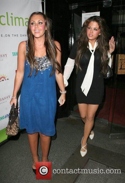 Michelle Scott-Lee and Bianca Gascoigne at the final...