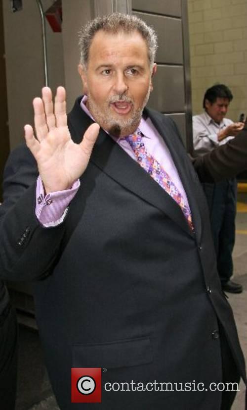 Raul de Molina leaving Mandarin Oriental Hotel in...