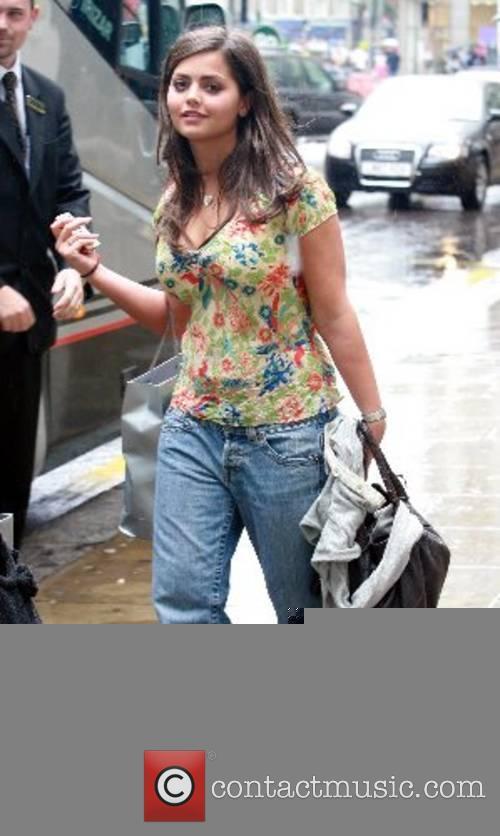 Jennifer Metcalfe Emmerdale cast leave the Royal Garden...