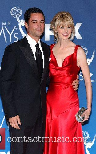 Danny Pino and Kathryn Morris The 59th Primetime...