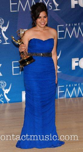 America Fererra The 59th Primetime Emmy Awards at...