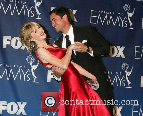 Danny Pino and Katherine Morris The 59th Primetime...