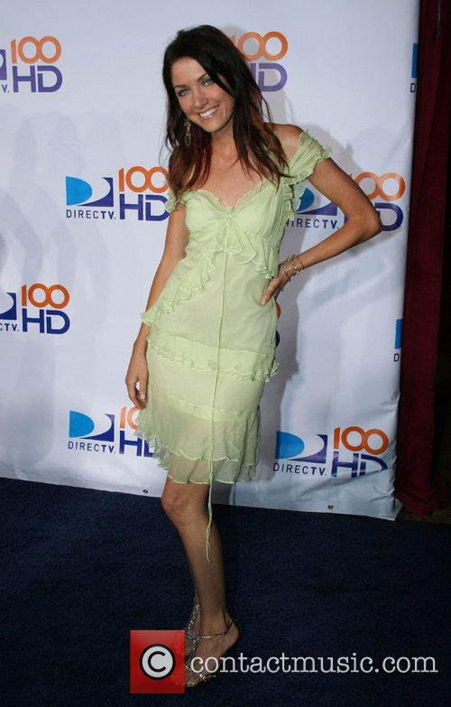 Shaina Fewell DIRECTV's 100 HD Emmy Awards after...