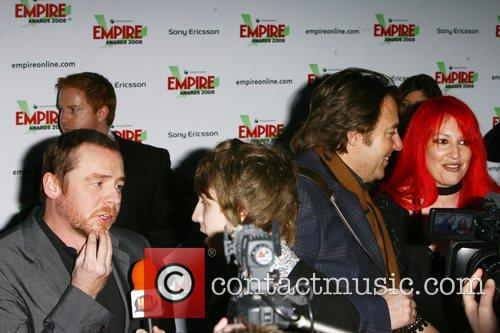 Simon Pegg, Jonathan Ross and Jane Goldman 1