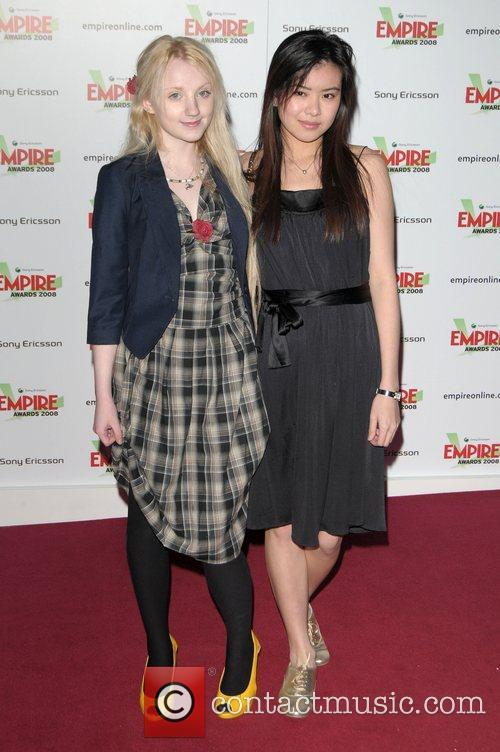 Evanna Lynch and Katie Leung 1