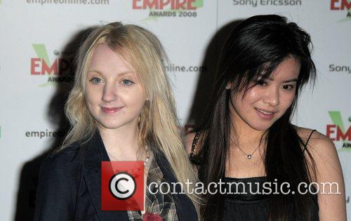 Evanna Lynch and Katie Leung 2