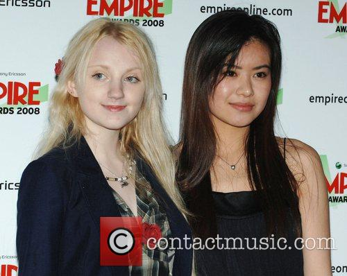 Evanna Lynch and Katie Leung 3