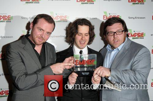 Simon Pegg, Nick Frost, Grosvenor House