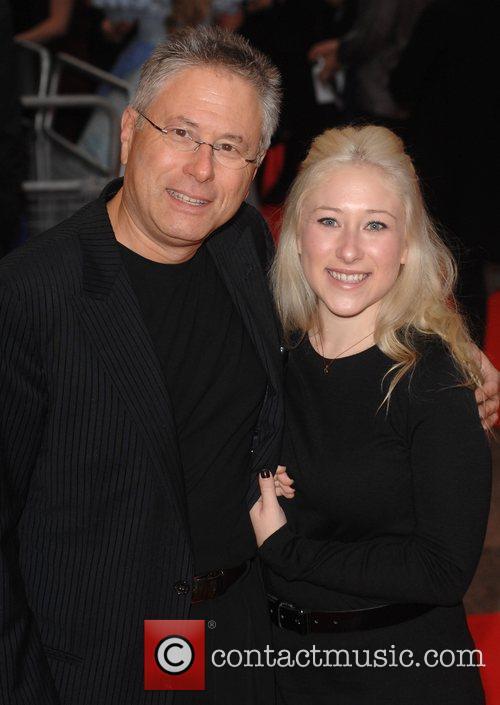 Composer Alan Menken and daughter The Times BFI...