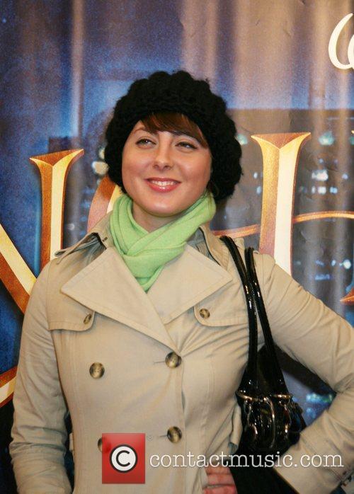 Eva Robbins at a special screening of