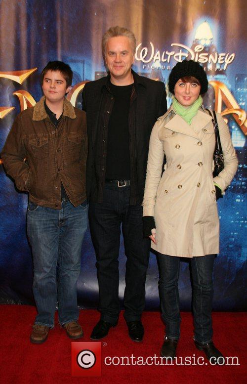 Tim Robbins, Eva Robbins at a special screening...