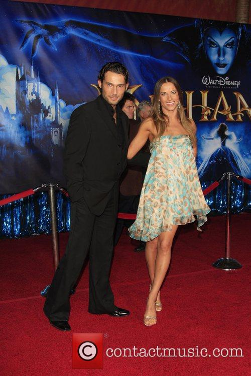 Alec Mazo, Edyta Sliwinska World Premiere of Disney's...