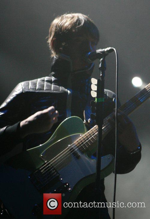 The Enemy performing at Manchester Evening News Arena