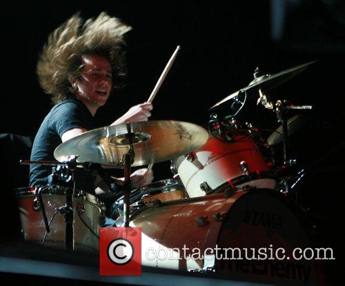 The Enemy performing at Manchester Evening News Arena...