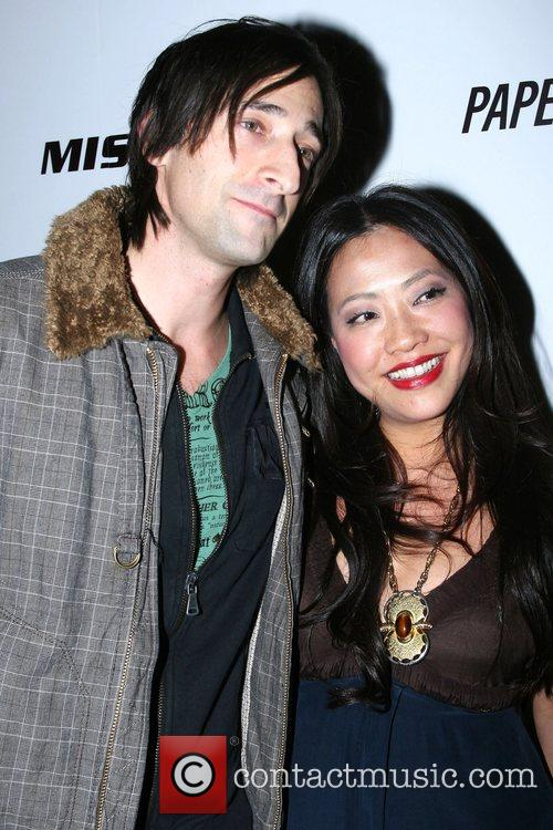 Adrien Brody and guest Opening of Energie/Miss Sixty...