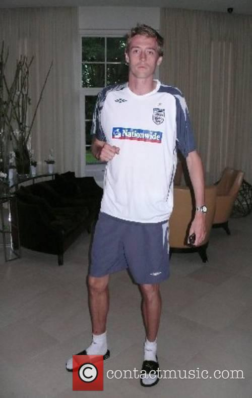 Peter Crouch Members of the England football team...