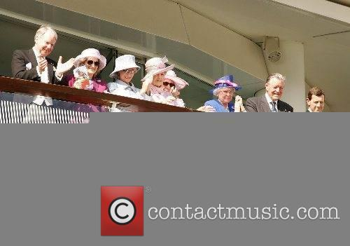 HM The Queen and Guests The 2007 Vodaphone...