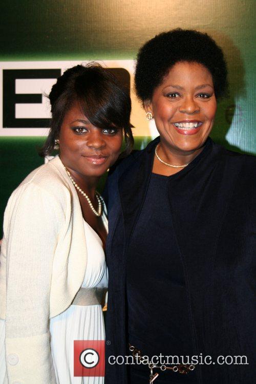 Arielle Freeman and aunt Yvette Freeman 'ER' celebrates...