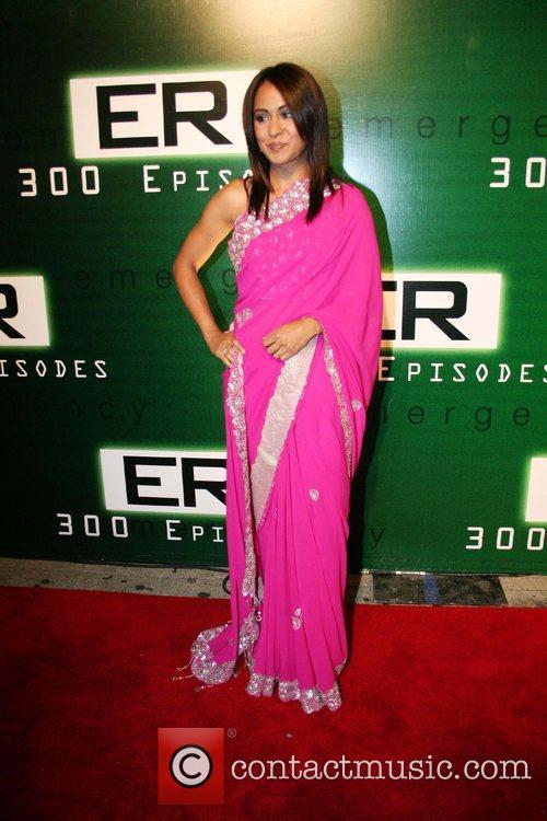 Parminder Nagra 'ER' celebrates its 300th episode at...