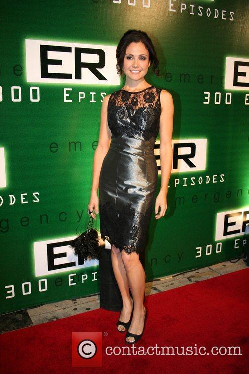 Reiko Aylesworth 'ER' celebrates its 300th episode at...
