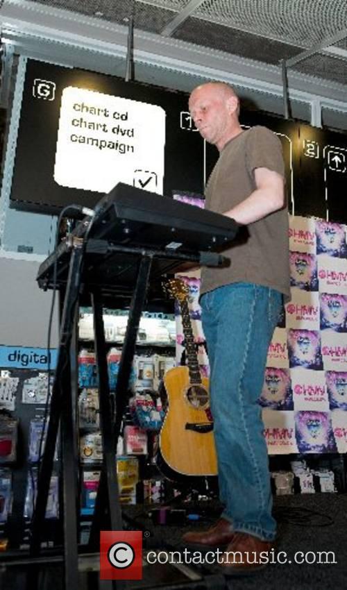 Erasure perform at HMV in Birmingham London, England