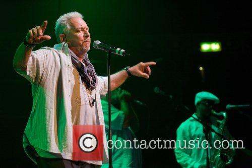Eric Burdon of War performing live at the...