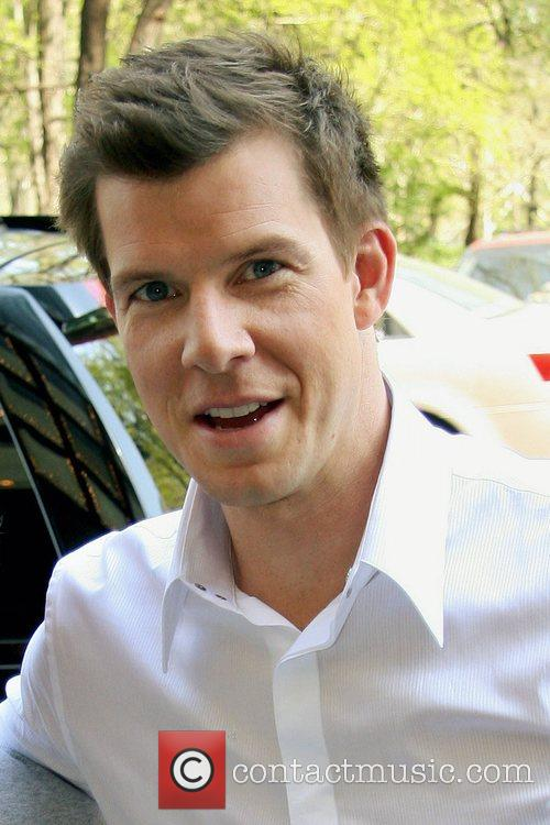 'Ugly Betty' star Eric Mabius outside his Midtown...