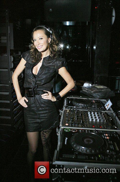 DJ Sky Nellor at the ESPN magazine pre...