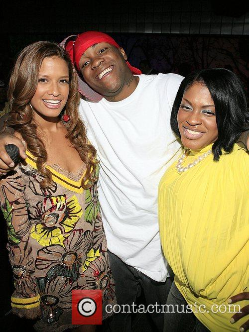 Rosci, Mike Jones and Lil' Mo at the...