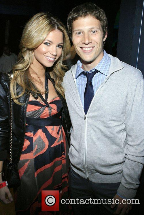 Zak Gilbert and Amber Lancaster at the ESPN...