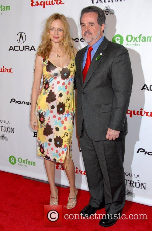 Raymond Offenheiser and Heather Graham,  Esquire Magazine...
