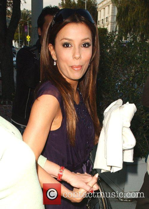Eva Longoria Parker goes to Ken Paves Salon...