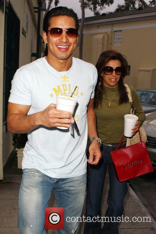Eva Longoria and Mario Lopez 6