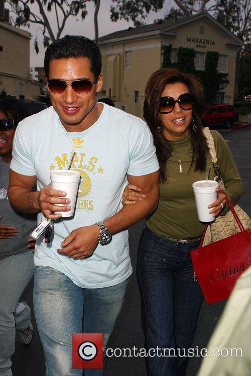 Eva Longoria and Mario Lopez 2