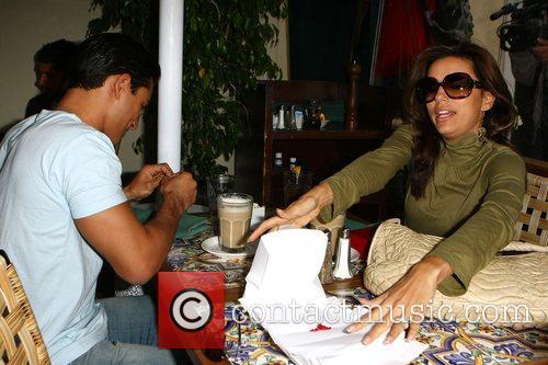 Eva Longoria and Mario Lopez 5