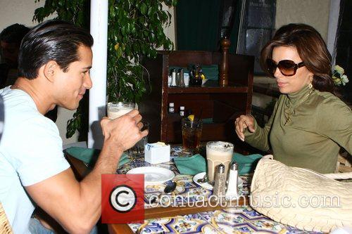 Eva Longoria and Mario Lopez 7