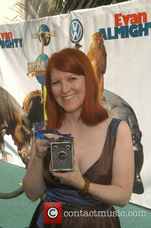 Kate Flannery  World Premiere of 'Evan Almighty'...