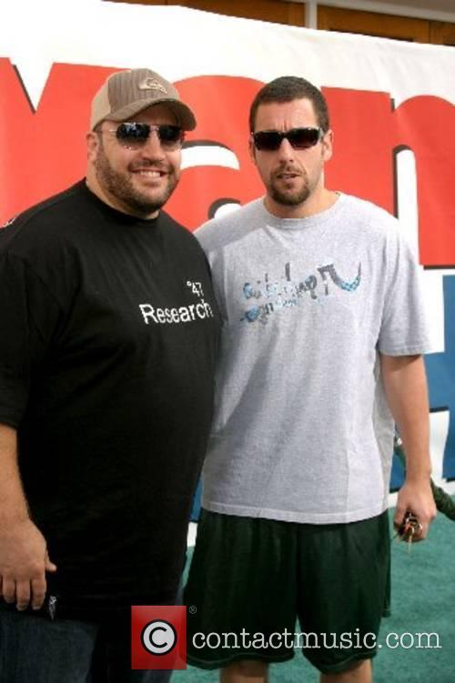 Kevin James and Adam Sandler World Premiere of...