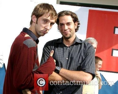 Joel Moore & Zachary Levi World Premiere of...