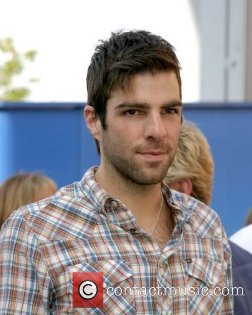 Zachary Quinto World Premiere of 'Evan Almighty' at...