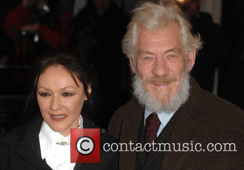 Frances Barbour and Sir Ian McKellen Evening Standard...