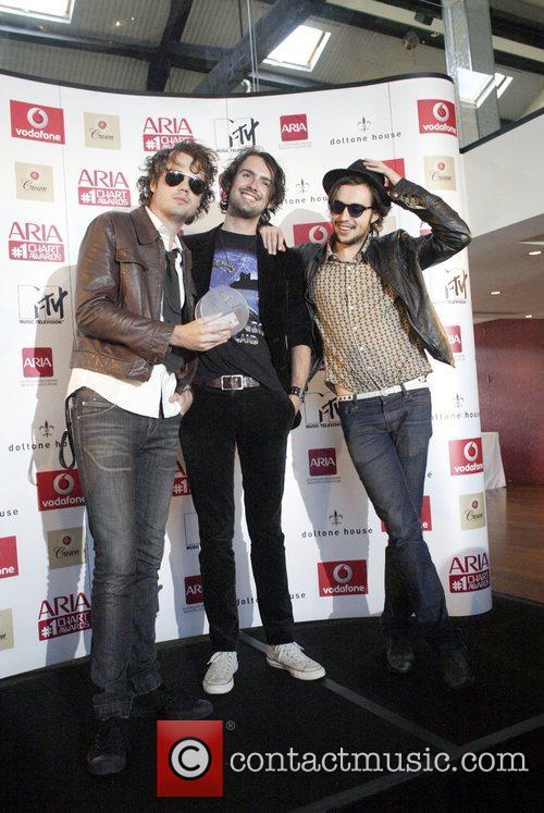 Evermore at the 6th annual ARIA (Australian Recording...