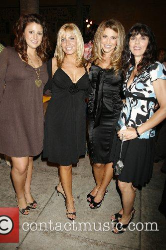 Cerina Vincent and Mom Marisa Vincent (Right) with...