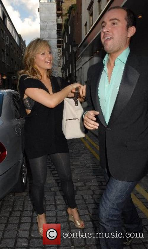 Abi Titmuss and guest 'The Evite Night At...